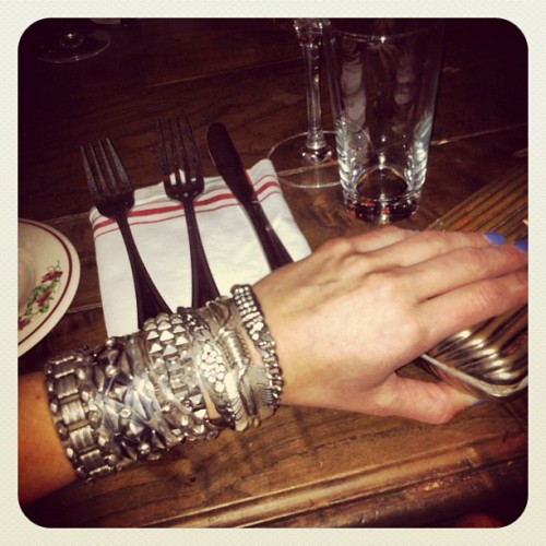 This invite is non-transferable: #Rockstars only please #dannijo #armparty  (Taken with instagram)