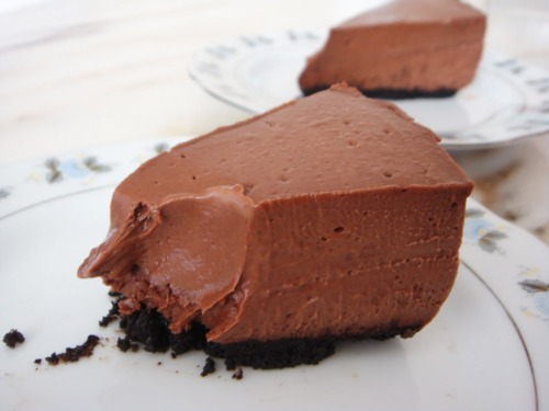 mocha chocolate cheesecake! (recipe)