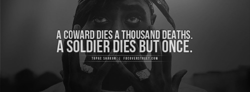 Tupac Soldier Dies But Once Facebook Cover