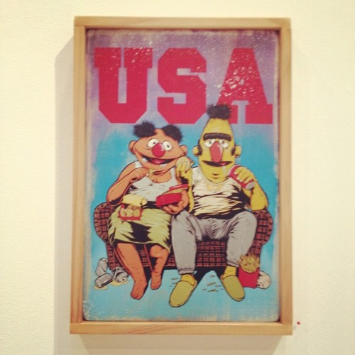 #knowngallery #theseventhletter #neff #fairfax #sesamestreet #rad #america  (Taken with Instagram at Known gallery)