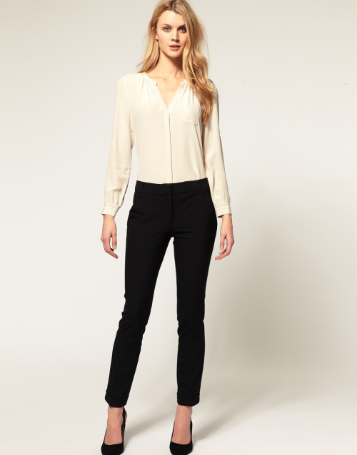 ASOS Slim Trouser With Jet Pocket