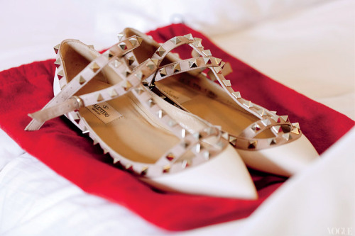thatluciegirl:  Currently coveting: Valentino shoes.
