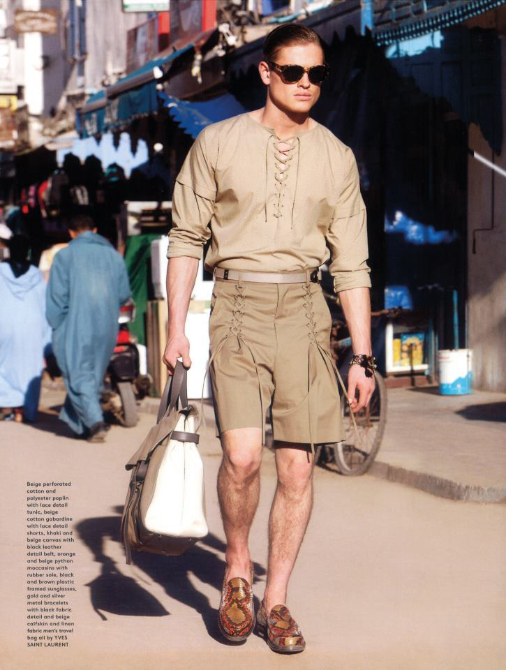 BE #NEUTRAL. mensfashionworld:  Patrick O'Donnell for GQ Style UK