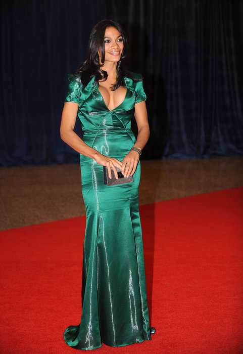 Rosario Dawson attends the White House Correspondents Dinner