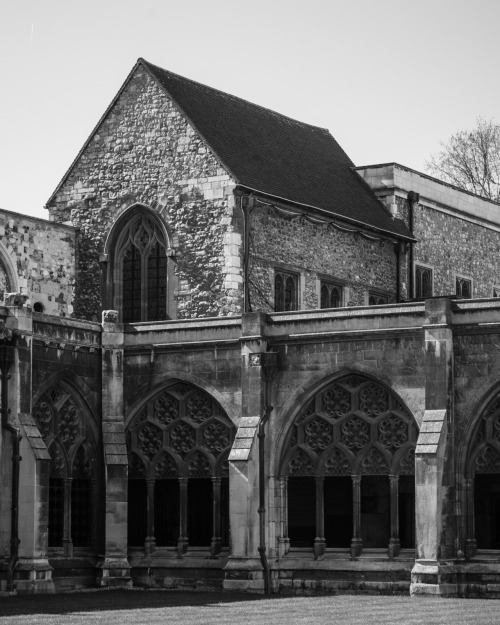 Great Cloister of Westminster Abbey Westminster, London, England 26 March 2012