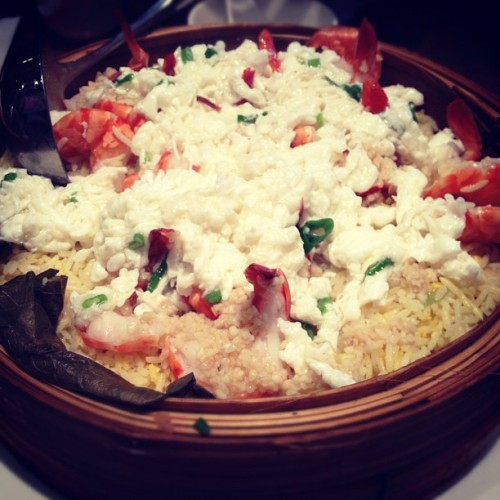 Shrimp fried rice. #food #iphonesia #instagram #iphone #shrimp #friedrice #kennys (Taken with instagram)