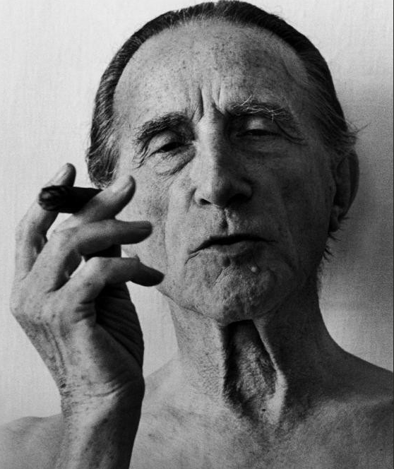 Marcel Duchamp by Christer Strömholm, Cadaquès, Spain, 1963
