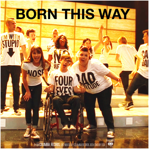 2x18 Born This Way | Born This Way Alternative Cover