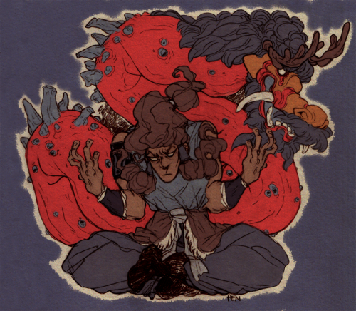 godzillabreath:  something I'm really interested in seeing is how Korra learns to interpret and respect the spiritual aspect of bending, since thus far she's been very upfront and physical.