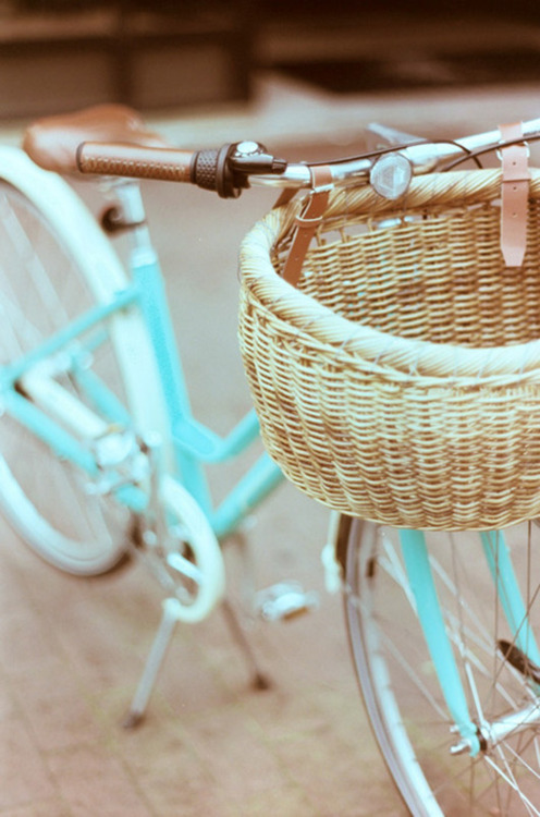 gimme this bike + a quaint beach town, and i'm a happy gal.