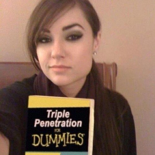 Gotta love Sasha Grey Lol