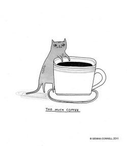 cofftea:  what keeps me up at night by gemma correll on Flickr.