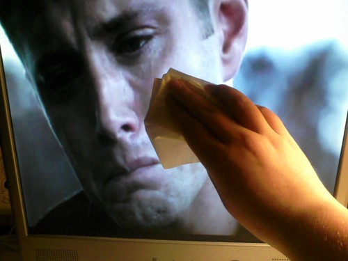 thewinchesterbros:  shh.. it's okay let it out