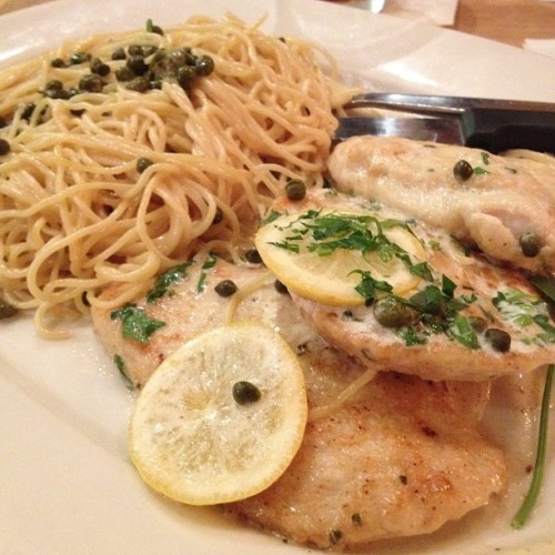 #chicken #piccata #cpk #food #nom #silentcovenant  (Taken with instagram)