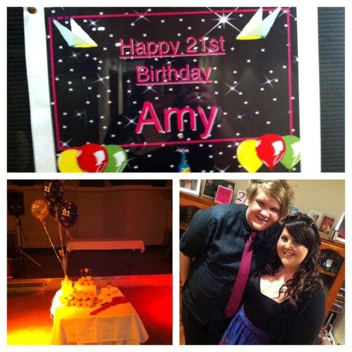 Had the best 21st :)  It was amazing. Had an awesome time with my family and friends! got very very drunk and danced and sang and even dj'd a bit haha Just had the best night. Thankyou everyone :)