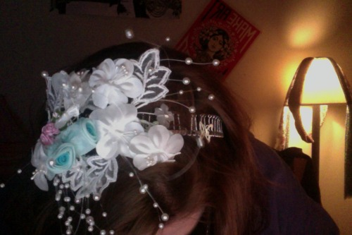Headband I made in the craft tent @ Culture Shock :)