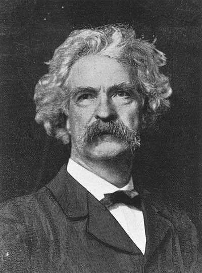 "Mark Twain The Adventures of Huckleberry Finn (1884) ""You don't know about me, without you have read a book by the name of The Adventures of Tom Sawyer, but that ain't no matter. That book was made by a Mr Mark Twain, and he told the truth, mainly."" From: The 10 best first lines in fiction"