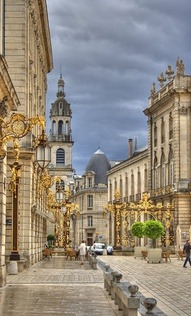Stanislas Square, Nancy, France.  Photo by D. B. Maurice (Nederlands)