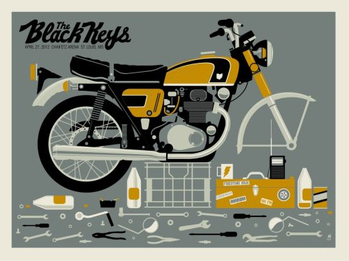 The Black Keys poster show