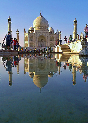 indiaincredible:  Taj Mahal (by Lemmo)