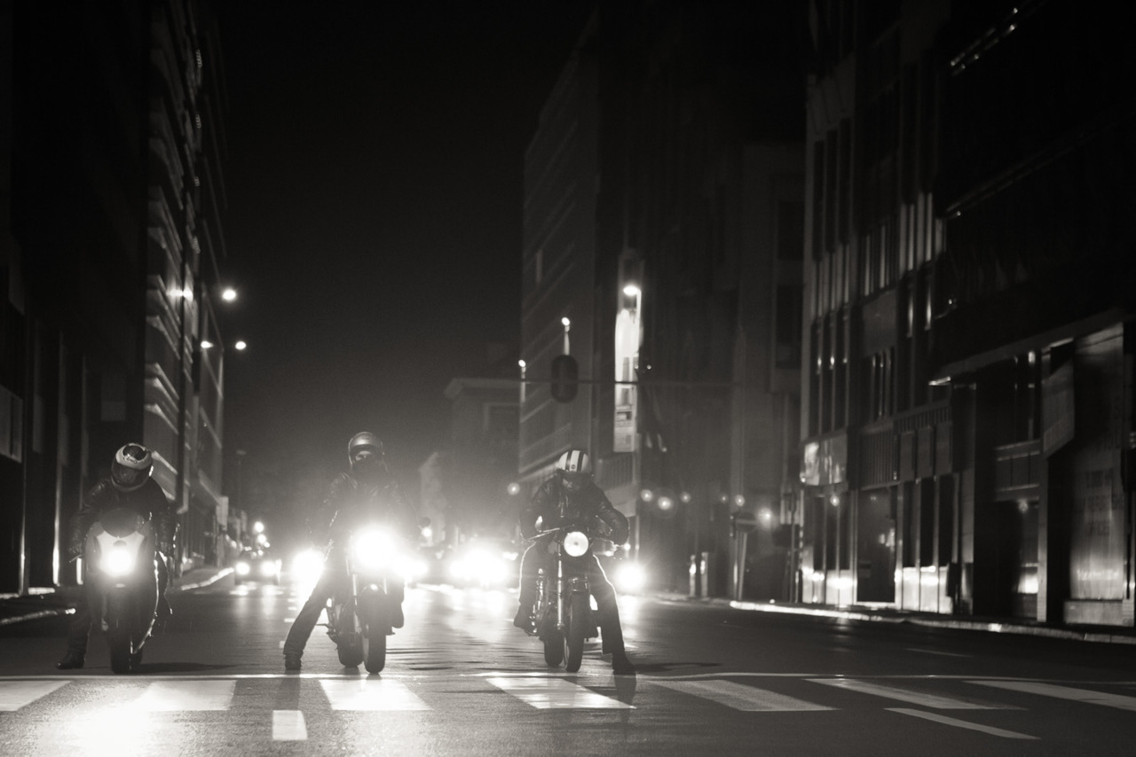 The night riders!  Shot by TBS