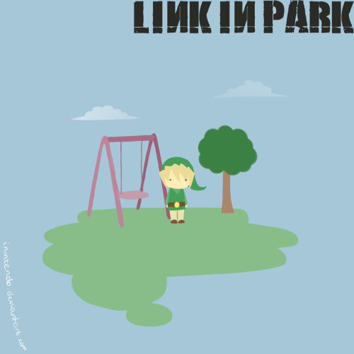 old-trenchy:  Link In Park by ~iNintendo  Teehee…
