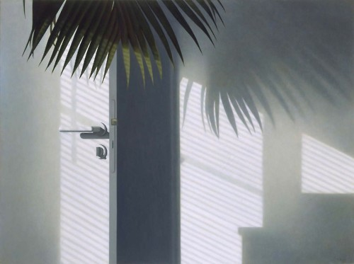 """Morning sunlight"", Ronald Bowen. Oil on canvas, 1993."
