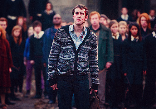 """Neville helped me grow up as much as he's helped people who've watched the films. When I first started, Neville and I were very similar: shy, chubby-faced boy. There was very little acting in the first couple of movies. That's just me. But as he grew, so did I. And the thing about Neville is this amazing message that J.K. Rowling did for him. This message of evolution. Neville's bullied, he's scared of his own shadow. No one ever thinks he'll amount to anything. And here he is in [""Deathly Hallows — Part 2""] saving the Wizarding World. It just shows you that, no matter how your childhood is, it doesn't define you."""