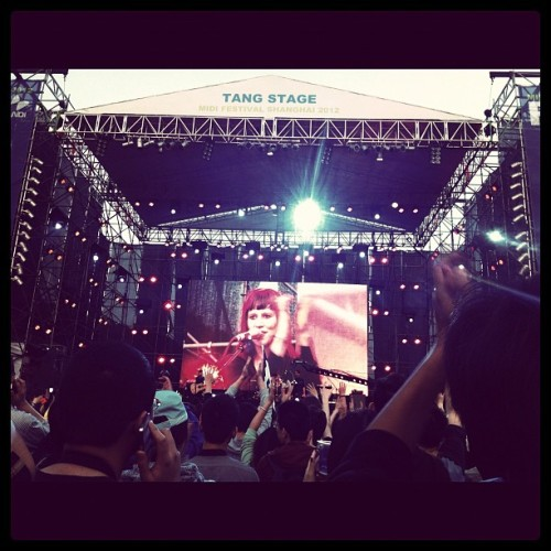 Midi festival! #shanghai #music #festival (Taken with instagram)