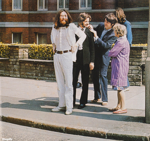 Abbey Road photoshoot by Linda McCartney, 8 August 1969