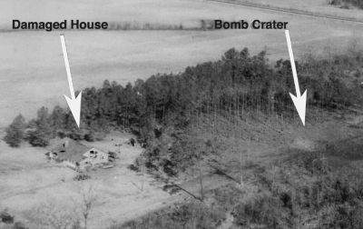 criminalwisdom:  The U.S. Once Dropped an Atomic Bomb on a South Carolina Town  In March 1958, an American B-47E bomber flying en route to Britain dropped its payload — an atomic bomb similar to the infamous Fat Boy — on Florence, South Carolina. Yes, you read that right. Luckily, only six people were injured. No one died. Blessedly, it didn't detonate. Well, actually, it sorta did.