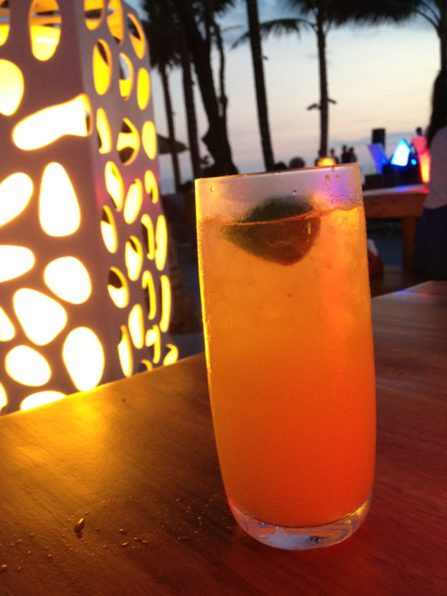 Evening mocktail , coconut crush @ W hotel bali