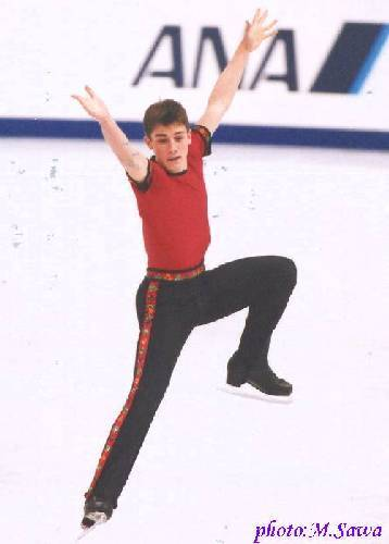 Brian Joubert skating to the Mexican Hat Dance at the 2002 World Championships.