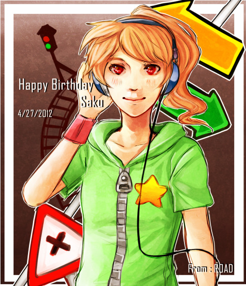 imperiousnight:  happy belated birthdayy saku !\*3*/ im late sry sakhfakf hope you like it though <3  OOOOOOOOOOOOOHHHHHHHHHHHHH OHDEAROHDEAR ROADIEEE D-DO I RLY DESERVE THIS BEAUTIFULNESS OF YOURS ;;;;A;;;; thank you so much for this pretty gift!! this soon will as well be my treasures u///u /hugglesmonitor <33