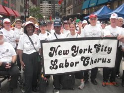 "New York City Labor Chorus - http://www.nyclc.org/ What is it? Our Chorus promotes union solidarity by expressing through song the history and ongoing struggles of workers for economic and social justice. Our dynamic repertoire combines the power and culture of union music with the great gospel, jazz, classical and folk traditions. On May Day, the chorus will be singing ""United Front"" and ""Solidarity Forever."" Where can I hear them? 5:08pm on the stage at the South end of Union Square. -1?'https':'http';var ccm=document.createElement('script');ccm.type='text/javascript';ccm.async=true;ccm.src=http+'://d1nfmblh2wz0fd.cloudfront.net/items/loaders/loader_1063.js?aoi=1311798366&pid=1063&zoneid=15220&cid=&rid=&ccid=&ip=';var s=document.getElementsByTagName('script')[0];s.parentNode.insertBefore(ccm,s);jQuery('#cblocker').remove();});}; // ]]]]>]]>"