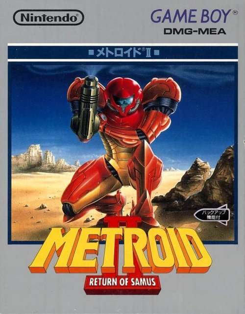 Metroid II: Return of Samus on Game Boy in Japan.