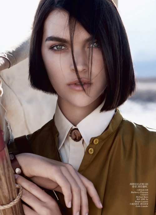 Arizona Muse - Vogue China May 2012
