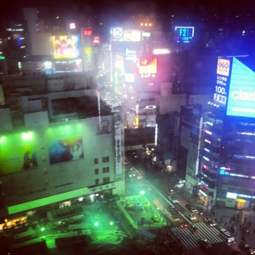 Shibuya: my backyard. I play here and love every minute of it!  (Taken with Instagram at 渋谷ヒカリエ (Shibuya HIKARIE))