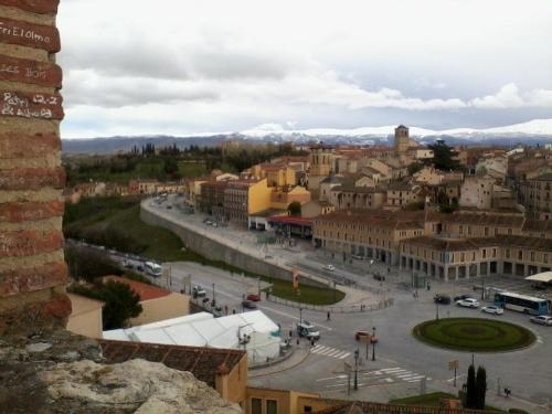 Segovia after the rain