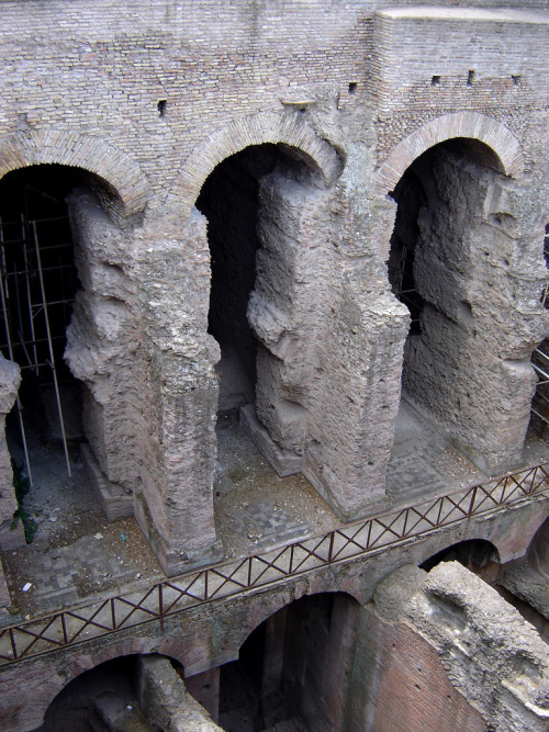 myancientworld:  Horrea Agrippiana, Rome.