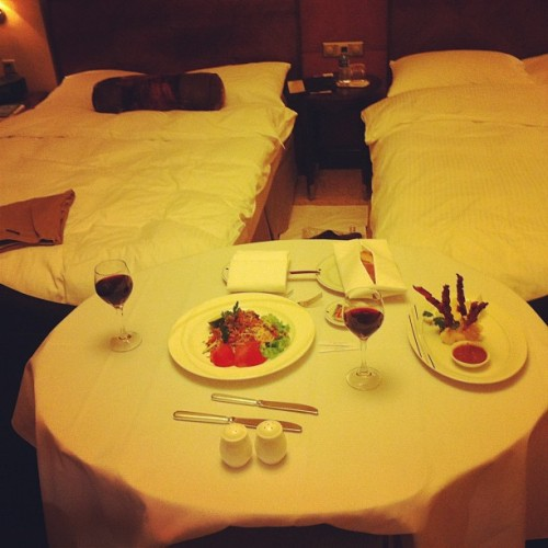 Room service. #travel  (Taken with Instagram at The St. Regis Shanghai)