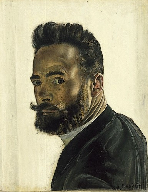 Ferdinand Hodler: Self-portrait, 1891.