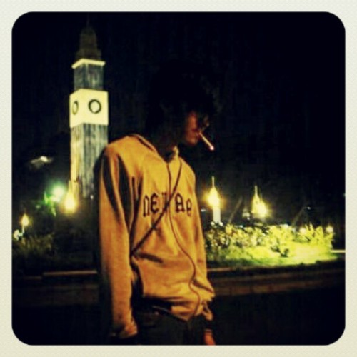 #aboutme #light #smoking #night #malang #indonesia  (Taken with instagram)