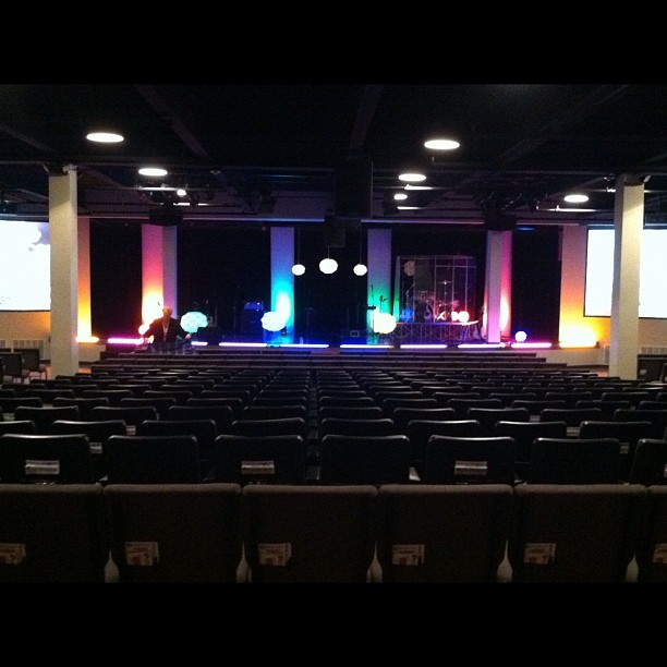 I love this stage set. (Taken with Instagram at Victory Christian Fellowship)