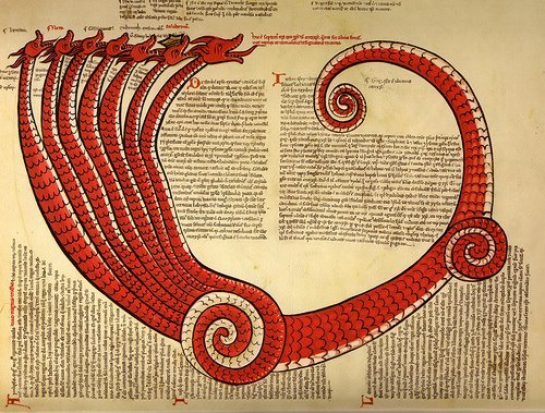 felixinclusis:  Seven headed dragon - Joachim of Fiore