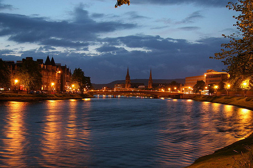 Inverness am Abend (by Heinz_H)