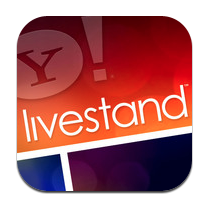 "Livestand. iPad. Free. Not to be left behind on every front, Yahoo! has started its own magazine app for iPad that draws on Yahoo! content from around the globe and presents it in a very visually appealing way. Livestand's ""digital shelves"" are filled with content based on all types of topics, such as arts and culture, business and finance, entertainment, news and politics, photography, sports, travel and more. Media content, such as photos, videos, graphics, and ads, are optimized for the iPad. The articles themselves look a lot like the presentation in my favorite Google Reader iPad app Reader - clean, stripped of distracting content. While the content can only be viewed in landscape mode, it offers the ability to have several different magazines for each family member using an iPad, so you can get your own customized content without having to view the latest exploits of Lindsay Lohan that appeal to your teenager. As content consumption is still probably the greatest use of the iPad, Livestand steps in with a nice alternative."
