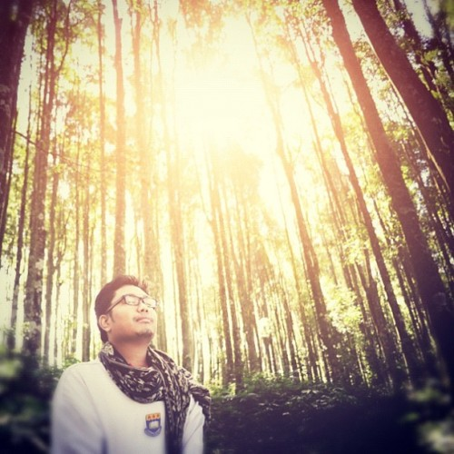 #morning #forest #mist #selfpotrait #photooftheday #idinstagram #bali #indonesia #popular #igers #instago (Taken with Instagram at Kebun Raya Bedugul)