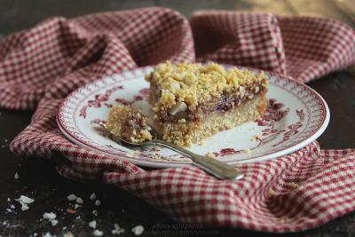 bakeddd:  peanut butter & jelly pie click here for recipe