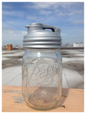 Just ordered one of these cool pour caps for mason jars. I'll likely be using mine for salad dressing. (via reCAP Mason Jars | The Original Pour Caps for Mason Jars)